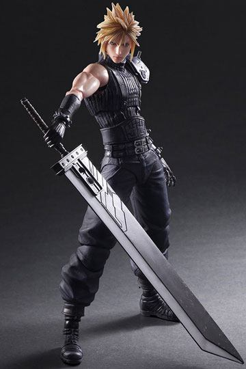 Final Fantasy VII Remake Play Arts Kai Action Figure No. 1 Cloud Strife 28 cm