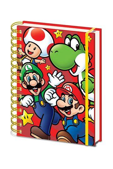 A5 Notizbuch Gamer At Work Wiro 15 x 21 cm schwarz