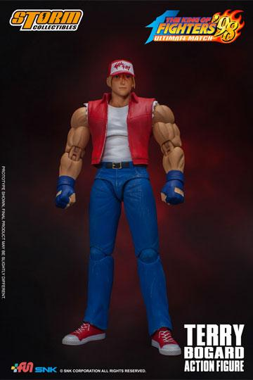 [RESERVA DE MAYO 2020]KING OF FIGHTERS '98: ULTIMATE MATCH FIGURA 1/12 TERRY BOGARD 18 CM