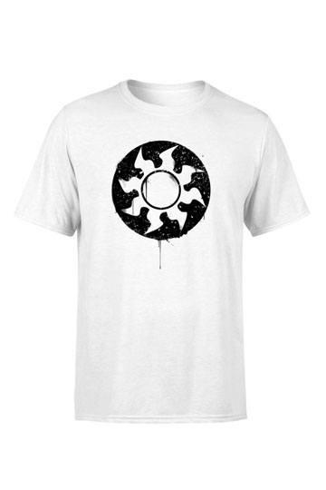 Mana White Splatter Shirt The Gathering T Magic KJul35F1cT