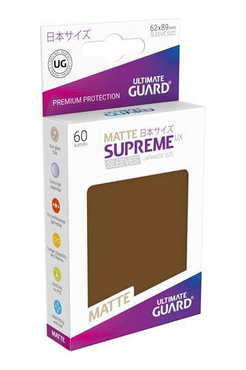 Ultimate Guard Supreme UX Sleeves Standardgröße Matt Hellgrün 80