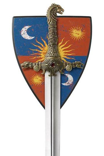 Knives, Swords & Blades Honey Game Of Thrones Stark Infantry Shield Officially Licensed From Valyrian Steel