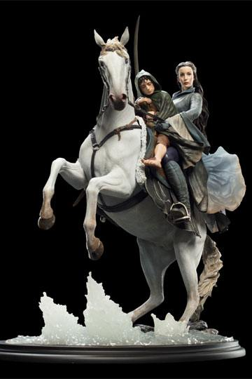 Arwen & Frodo on Asfaloth Lord of the Rings 1/6 Statue by Weta Collectibles