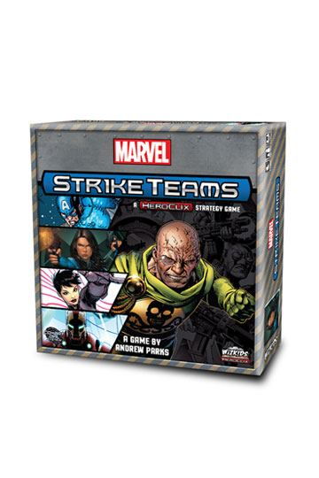 02dc10403f Marvel HeroClix Board Game Strike Teams  English Version