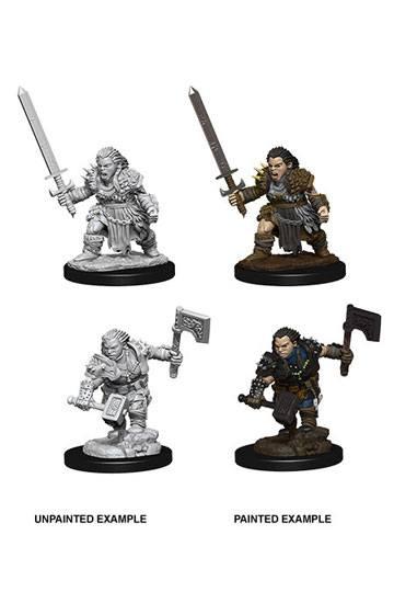 Pathfinder Battles Deep Cuts Unpainted Miniatures Female