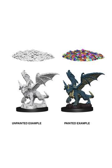 Cod. D/&D 7 Dungeons /& Dragon Dungeons /& Dragons Miniatura MEDIUM COPPER DRAGON