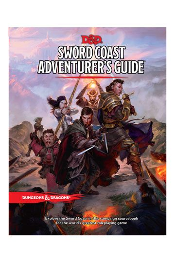 Dungeons Dragons Rpg Sword Coast Adventurer S Guide English