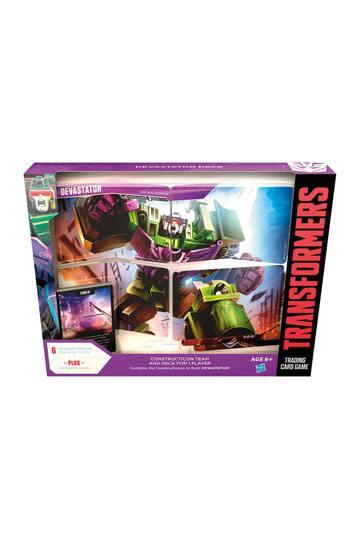 Transformers TCG Devastator Deck english