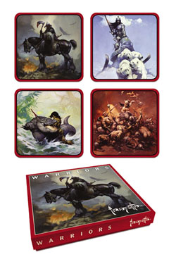 Frank Frazetta For Coaster Set Warrior