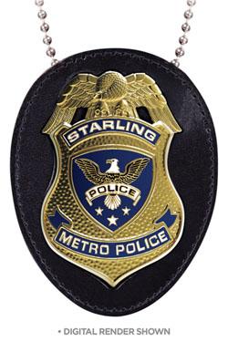 Arrow Replica 1/1 Starling City Police Badge 9 cm