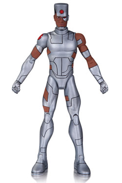 DC Comics Designer Action Figure Teen Titans Earth One Cyborg by Terry Dodson 18 cm