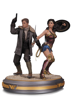 Wonder Woman Movie Statue 1/6 Wonder Woman and Steve Trevor 34 cm
