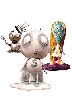 Tim Burton PVC Figure Set #1 Stain Boy 10 cm