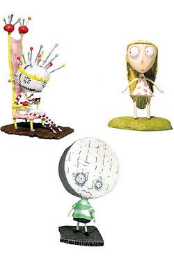 Tim Burton PVC Figure Set #4 Pin Cushion Queen 10 cm