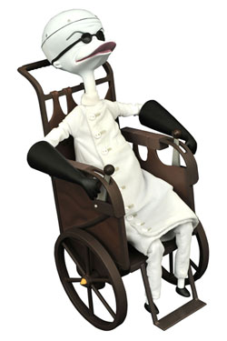 Nightmare before Christmas Collection Doll Dr. Finkelstein Limited Edition 25 cm