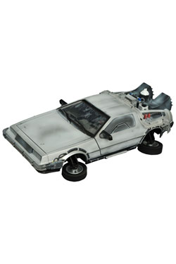 Back to the Future II 1/15 Model Frozen Hover Time Machine 36 cm