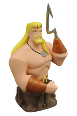 Justice League Animated Bust Aquaman 19 cm