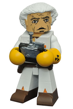 Back to the Future Vinimates Figure Doc Brown 10 cm