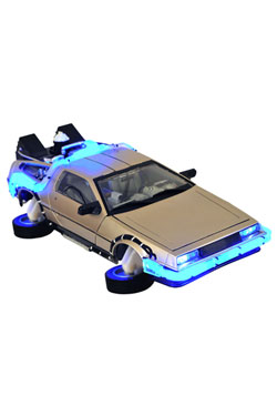 Back to the Future II 1/15 Model Hover Time Machine 36 cm