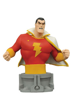 Justice League Unlimited The Animated Series Bust Shazam 15 cm