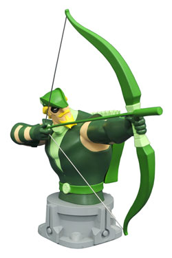 Justice League Unlimited Animated Bust Green Arrow 15 cm