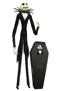 Nightmare before Christmas Coffin Doll Jack Skellington Unlimited Edition 41 cm