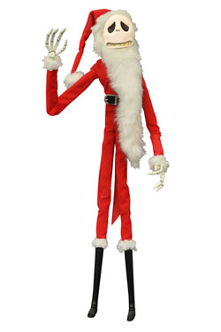 Nightmare before Christmas Coffin Doll Santa Jack Unlimited Edition 41 cm