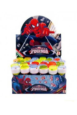 Spider-Man Soap Bubble Bottle Display (36)