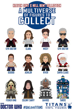 Doctor Who Trading Figure 12th Doctor Heaven Sent & Hell Bent Titans Display 8 cm (20)