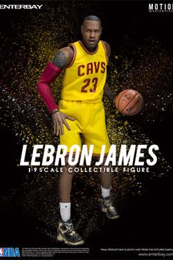 NBA Collection Motion Masterpiece Actionfigur 1/9 Lebron James 23 cm