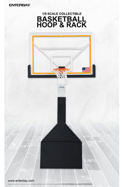 NBA Collection Motion Masterpiece 1/9 Basketball Hoop & Rack 46 cm