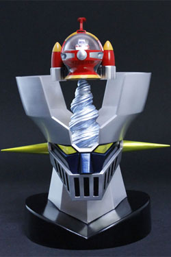 Mazinger Z Diecast Figure Metal Action No. 3 Great Mazinger Jetpilder 8 cm