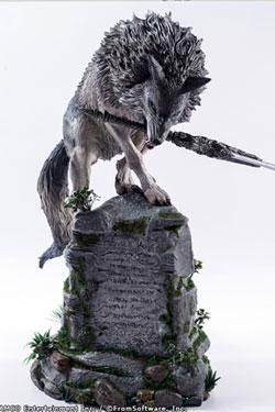 Dark Souls Statue The Great Grey Wolf Sif 64 cm