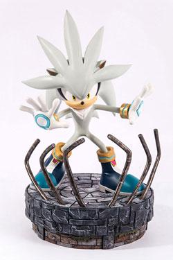 Sonic the Hedgehog Statue Silver the Hedgehog 44 cm