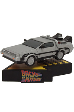 Back to the Future Shakems Bobble Figure Delorean Time Machine 18 x 13 cm