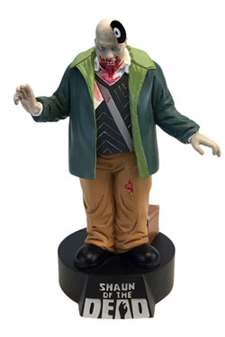 Shaun of the Dead Premium Motion Statue Vinyl Zombie 19 cm