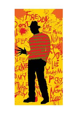 A Nightmare on Elm Street Towel Freddy 150 x 75 cm