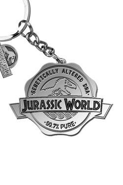 Jurassic World Keychain Logo 5 cm