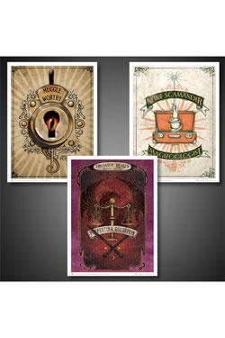 Fantastic Beasts Poster Set Art Prints #01