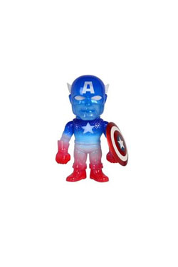 Marvel Comics Sofubi Vinyl Action Figure Classic Captain America SDCC 2016 Exclusive 19 cm