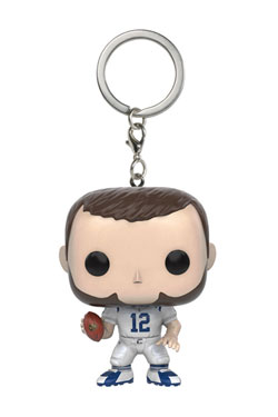 NFL Pocket POP!  Vinyl Keychain Andrew Luck (Colts) 4 cm