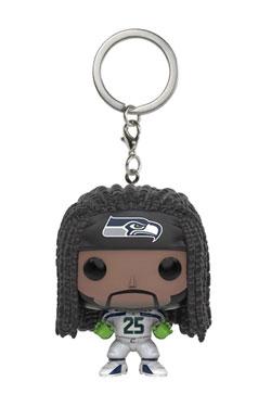 NFL Pocket POP!  Vinyl Keychain Richard Sherman (Seattle Seahawks) 4 cm