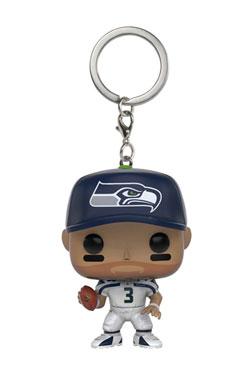 NFL Pocket POP!  Vinyl Keychain Russell Wilson (Seattle Seahawks) 4 cm