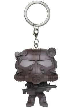 Fallout 4 Pocket POP! Vinyl Keychain T-60 Power Armor 4 cm