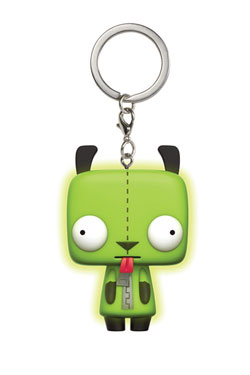 Invader Zim Pocket POP! Vinyl Keychain Gir 4 cm