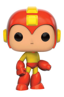 MegaMan POP! Games Vinyl Figure Mega Man - Fire Storm 9 cm