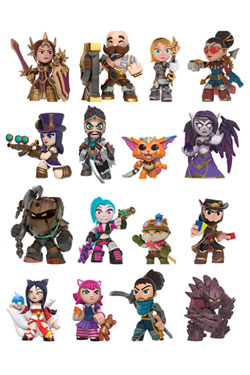 League of Legends Mystery Minis Vinyl Mini Figures 6 cm Display (12)