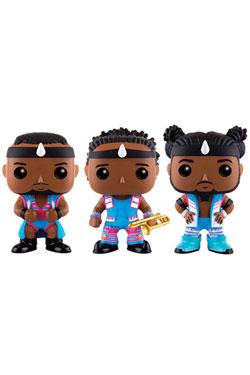 WWE Wrestling POP! WWE Vinyl Figures 3-Pack Big E, Xavier Woods & Kofi Kingston 9 cm
