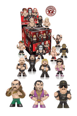 WWE Mystery Minis Vinyl Mini Figures 6 cm Series 2 Limited Mix Display (12)