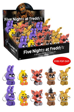 Five Nights at Freddy's Squeeze Keychain 5 cm Display (24)